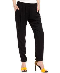 Jessica Simpson Juniors Pants, Clayton Slouchy Straight Leg - Juniors Pants & Capris - Macy's