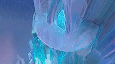 Elsa's Ice Palace Frozen Watch the animation.