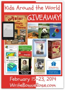 Win a kindle and much much more in this Kids Around the World Giveaway!!! #Giveaway #homeschool