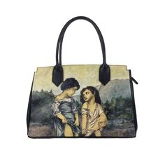Ručne maľovaná kabelka 8576 inšpirovaná motívom William-Adolphe Bouguereau William Adolphe Bouguereau, Ted Baker, Reusable Tote Bags