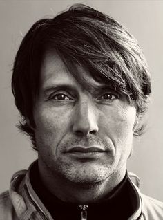 Mads Mikkelsen. His face intrigues me