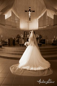Bride at Our Lady of