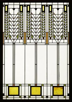 Frank Lloyd Wright Tree of Life Stained Glass Small http://www.facebook.com/groups/195025377311936/permalink/195055290642278/