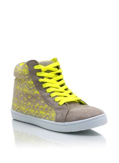 Tribal Lace Overlay Sneakers $26.00