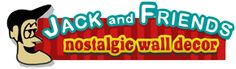 Jack and Friends Nostalgic signs and clocks
