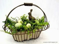 Simply Country Life: Thrift Store Bunny Makeover into Faux Chocolate Bunny