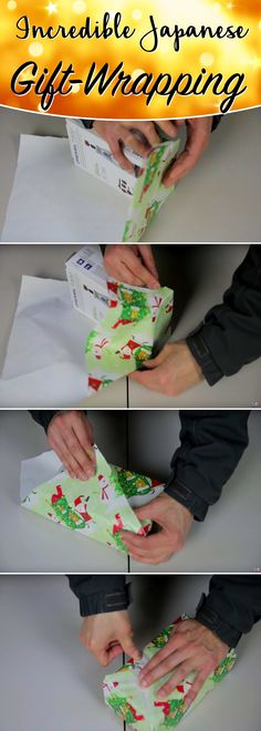 Wrap Those Festive Presents In a Jiffy With This Incredible Japanese Gift-Wrapping!