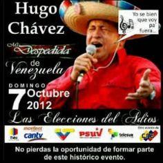 Hasta la vista mr Chavez!!