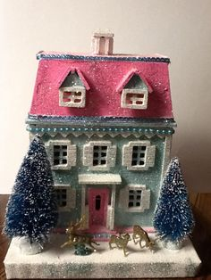 glitter house handmade by Amy Fahey