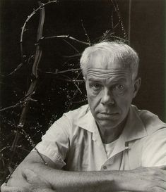 Portrait of photographer Minor White by Imogen Cunningham