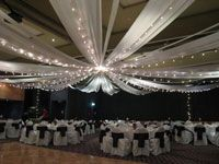 how to spice up a vfw building? :  wedding decorations reception vfw Canopy