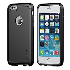 iPhone 6 Plus Case, LUVVITT® ULTRA ARMOR iPhone 6 Plus Case / Best iPhone 6 Plus Case that Fits 5.5 inch Screen | Double Layer Shock Absorbing Cover (Does NOT fit iPhone 5 5S 5C 4 4s or iPhone 6 4.7 inch screen) - Black / Black Luvvitt http://www.amazon.com/dp/B00LOYOA2A/ref=cm_sw_r_pi_dp_Eitmub1C05JQ3