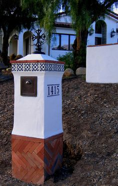 Spanish Style Mailbox designs and components for sale