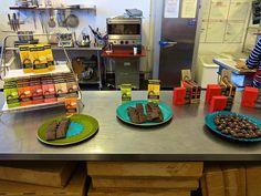Kika's Treats in San Francisco a kitchen tour.... http://placesiveeaten.blogspot.com/2014/08/kikas-treats-sweets-week-factory-tour.html