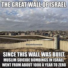Well Done Israel! President Trump Build that Wall! Thats The Way, That Way, Heiliges Land, Out Of Touch, Our Country, Holy Land, God Bless America, Way Of Life, Real Life