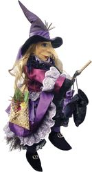 Lucinda Witch of Pendle Doll - Purple    Moonstruckgiftshop.com