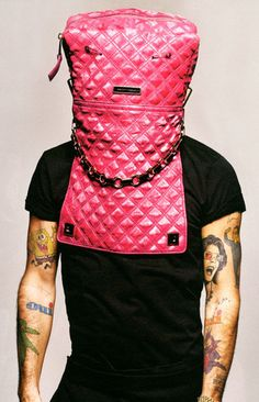 Last week, I spilled crazy glue in my purse. Then I came up with this great idea to stop my x from smoking. He had to go to the hospital to remove my bag from his head. Marc Jacobs photo