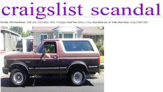 How Not to Buy a Car on Craigslist Good Mythical Morning, Best Tyres, Ford Bronco, Bench Seat, Watch V, Random Stuff, Link, Car, Random Things