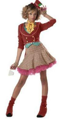 teen girl halloween costume ideas madhatter aliceinwonderland halloweencostumes - Cool Halloween Costumes For Teenagers