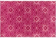 Esmae Rug, Hot Pink