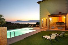 Amazing stone villa for relaxation in Kaliviani