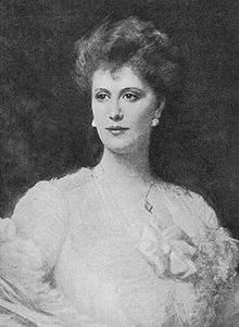 Alice Frederica Keppel, née Edmonstone[2] (29 April 1868 – 11 September 1947) was a British socialite and a long-time mistress of King Edward VII, Her formal style after marriage was The Hon. Mrs George Keppel. Her daughter is English writer Violet Trefusis. She is the matrilineal great-grandmother of Camilla, Duchess of Cornwall, second wife of Charles, Prince of Wales.