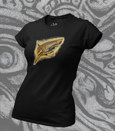 This Tommy Shark / Great White Shark t shirt was designed by me, printed on premium ethicaly manufactured cotton - soft as you like! Click on the pin for more details, you'll look great in this! Shark T Shirt, Organic Cotton T Shirts, Looks Great, Women Wear, T Shirts For Women, Printed, Tees, Mens Tops, How To Wear