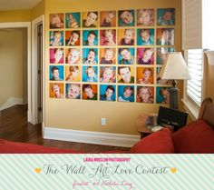 the Wall Art Love Contest Finalists :: Vote for your Favorite Wall Now! :: Laura Winslow Photography » Phoenix, Scottsdale, Chandler, Gilbert Maternity, Newborn, Child, Family and Senior Photographer  Laura Winslow Photography {phoenix's modern photographer}