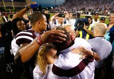 Mississippi State Football - Bulldogs Photos - ESPN   THE BULLDOG FAMILY after a great win against Auburn