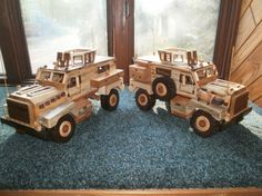 mrap cougar - by wiswood2 @ LumberJocks.com ~ woodworking community