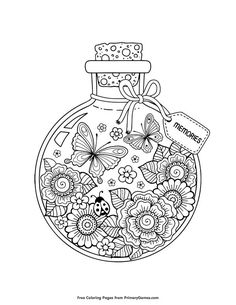 Free printable Summer Coloring Pages eBook for use in your classroom or home from PrimaryGames. Print and color this Summer Memories coloring page. color Summer Coloring Pages eBook: Summer Memories Summer Coloring Pages, Printable Adult Coloring Pages, Mandala Coloring Pages, Coloring Pages To Print, Coloring Books, Kids Coloring, Colouring In Sheets, Coloring Pages For Adults, Coloring Tips