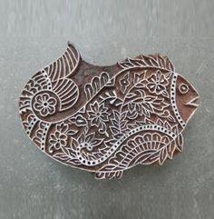 Fish Stamp – Wood Block –