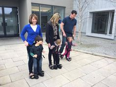 Firefly Upsee: Mother Invents Harness to Help Disabled Children Stand Upright and Walk