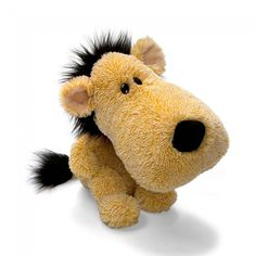 Bichinho de Pelúcia Cabeça Grande Gund Nuzzles - Leão Harry - Pelúcias - Crianças - Bebês e Infantil