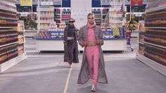 Chanel Pret A Porter F/W 2015 supermarket runway show to Azari & iii Reckless With Your Love (Tensnake Remix)