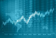 stock market finance graph background with abstract Growth graph chart. 2d illustration , #Sponsored, #finance, #graph, #stock, #market, #background #Ad