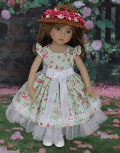 "OOAK Dress Hat Ensemble 13"" Effner Little Darling Doll Betsy | eBay"