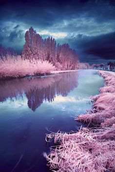 Misty Rainy Day - by David Keochkerian - #infrared #photography