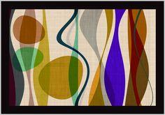 Positive Energy 2 by Barry Osbourn Framed Graphic Art