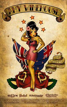 Amy Winehouse Poster by Hayley-Heartbreak.deviantart.com on @deviantART