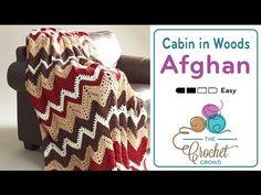 How to #Crochet Ruffle Edge Baby Blanket #TUTORIAL #318 - YouTube