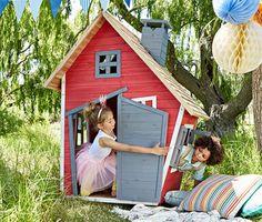 Holz-Spielhaus online bestellen bei Tchibo 327665