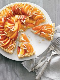 Mascarpone, Almond and Apricot Crostata