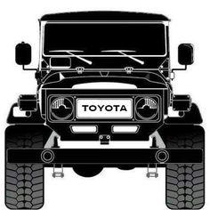 FJ Toyota Lc, Toyota Fj40, Toyota Trucks, Toyota Cars, Toyota Land Cruiser, Fj Cruiser, Carros Toyota, Suv 4x4, Offroader