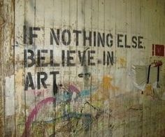 A life lived for art is never wasted. http://allthewritenotes.com/2013/07/08/a-life-lived-for-art-is-never-wasted/
