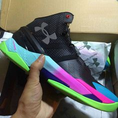 91f277eea57b Free Shipping Only 69  Under Armour UA Stephen Curry Two 2 Prism Teal  Fuchsia Black