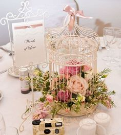 30 birdcage centerpiece for rustic wedding ideas 21