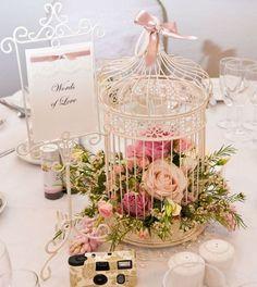 30 birdcage centerpiece for rustic wedding ideas 21