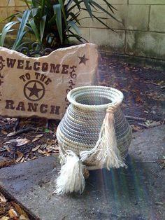 Lariat Rope Basket