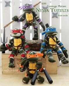 sock-ninja-turtle tutorial